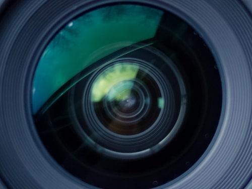 Webcam Camera Close Up