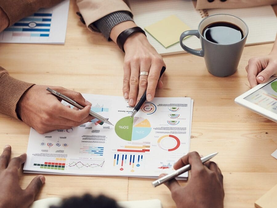 Group Analysing Statistics on Paper