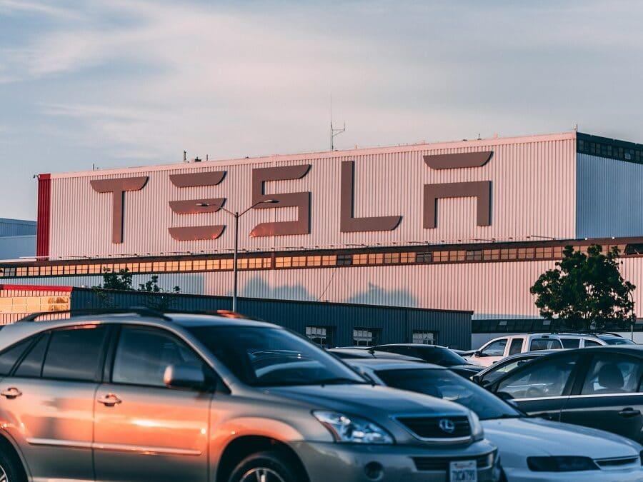 Tesla Centre Car Park