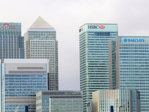 HSBC and Barclays Bank Buildings